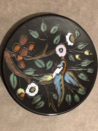 Talerz ceramiczny szkliwiony