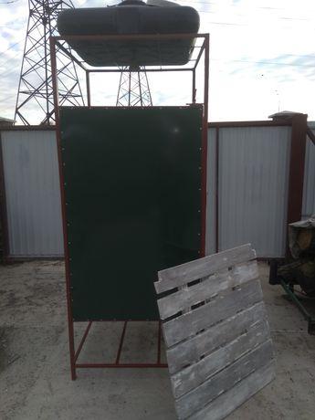 Новая Душевая кабина, летний душ для дачи, частного дома 150 литров