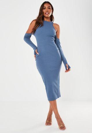 (40) ASOS/Ekskluzywna sukienka ołówkowa z wycięciami z Londynu/NOWA