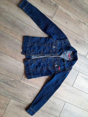 Kurtka dziewczęca jeans 140