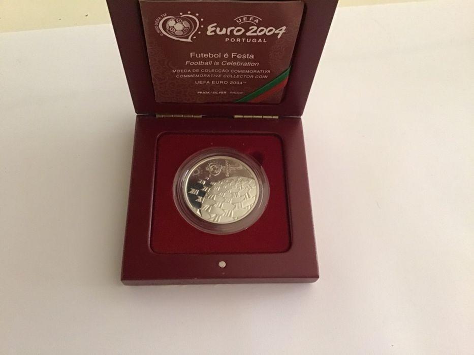 Moeda prata Euro 2004 Charneca De Caparica E Sobreda - imagem 1