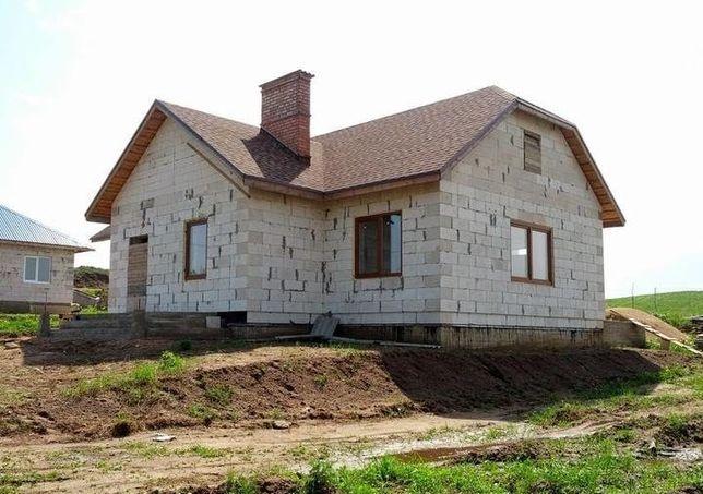 Строительство домов - фундамент / кладка / кровля крыши / заборы