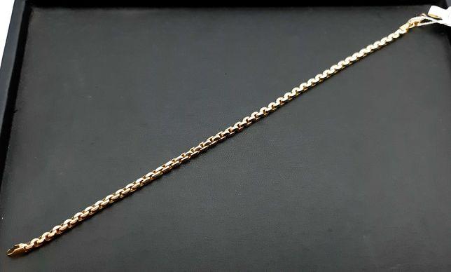 Złota bransoletka P585 5,23g 21cm LOM95