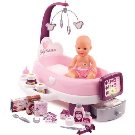 Smoby Elektroniczna Opiekunka Baby Nurse Dla Lalki L220347