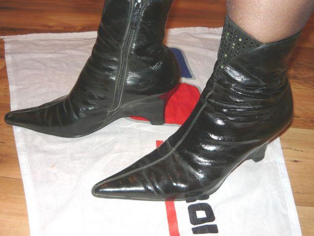Ботильоны, ботинки демисезонные Clotilde р.38 бу.