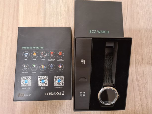 N58 Męski Smartwatch EKG zegarek do APPLE ANDROID