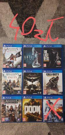 Gry PS4 używane 40zl