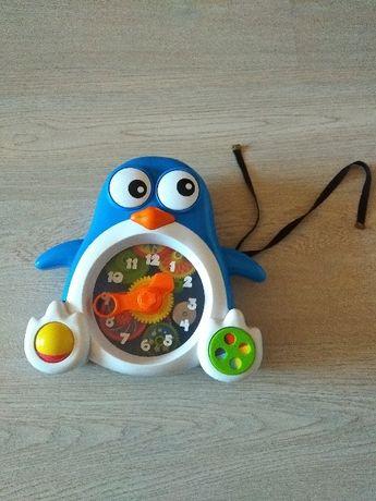 Smiki pingwin do nauki zegara