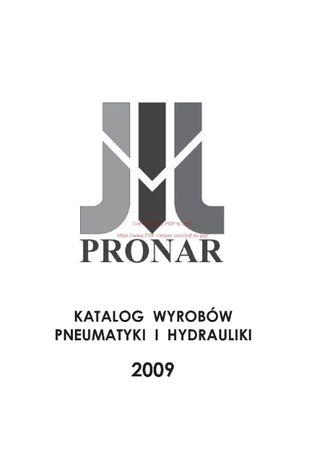 Katalog wyrobów pneumatyki i hydrauliki Pronar