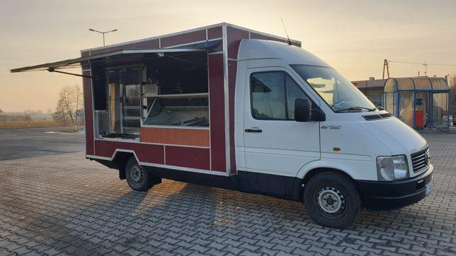 Food truck gotowy do pracy bar kebab