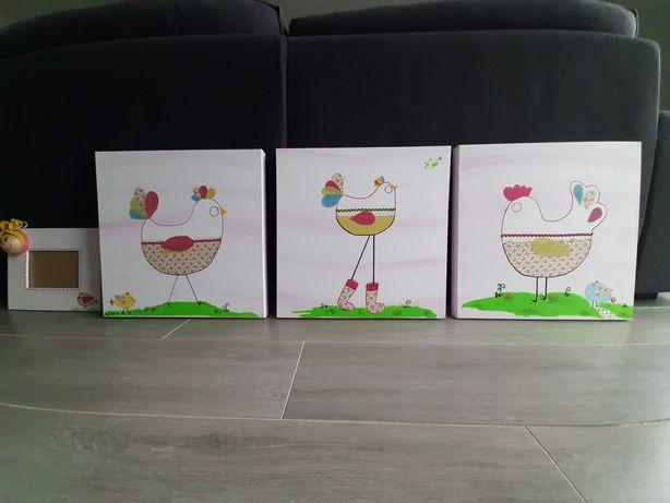 Telas tema galinhas