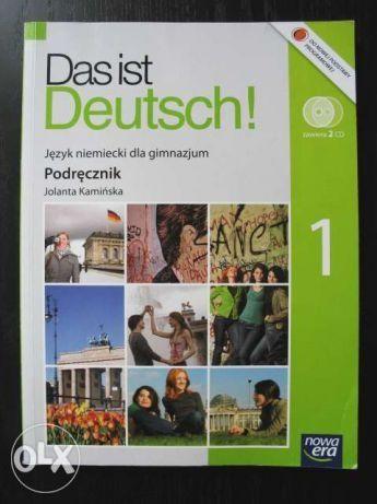 DAS IST DEUTSCH 1 podręcznik Nowa Era + płyta CD nowy