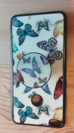 2 x Etui w motyle z popsocket + książeczka do telefonu Huawei P9 Lite