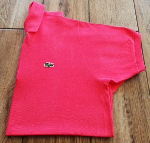 Lacoste nowy oryginalny męski t-shirt koszulka bluzka