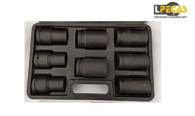"Conjunto Chaves Caixa Impacto 3/4"" 17-32mm 8 PCS"