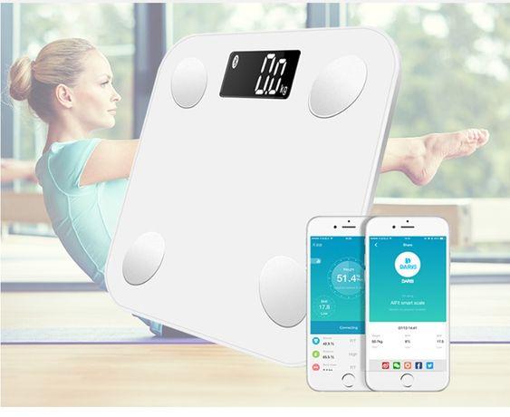 DARIS DR-BA-001 умные смарт весы Bluetooth приложение для смартфона