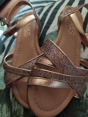 Sandały buty dziecięce M&S rozmiar 33
