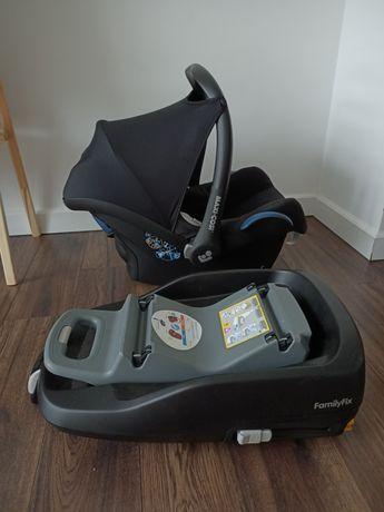 Fotelik NA GWARANCJIsamochodowy 0-13 kg z bazą Family Fix Maxi Cosi