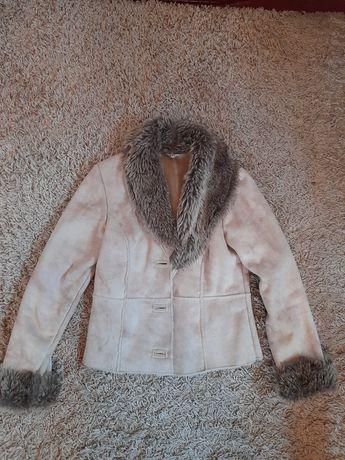 Женская куртка дубленка
