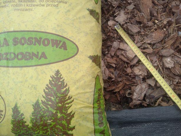 Ziemia ogrodowa kwiatowa torf kwaśny kora sosnowa worek Faktura Vat