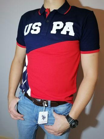 Super koszulka polo US . POLO M L XL XXL
