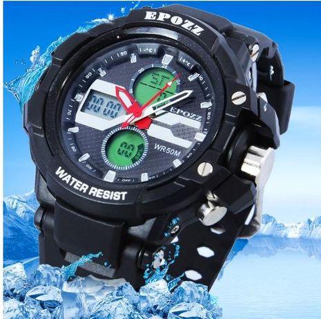 Мужские спортивные часы EPOZZ (G-Shock) ВОДОСТОЙКИЕ противоударные