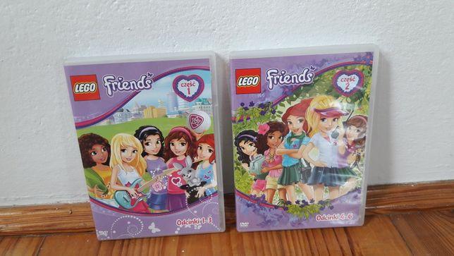 Płyty CD z bajką Lego Friends - unikaty! NOWE