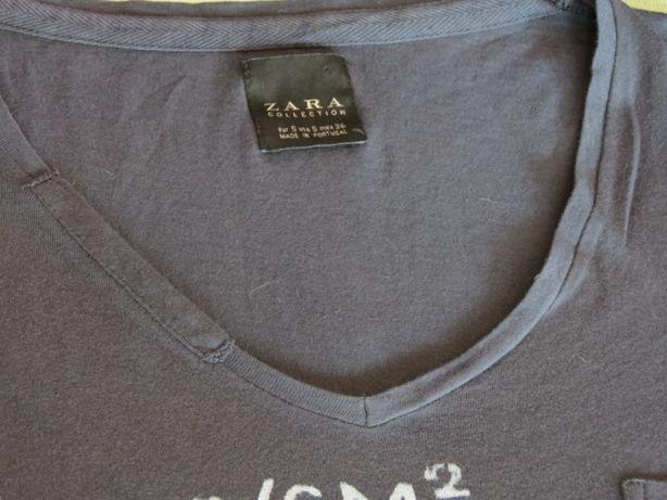 T-shirt masculina Zara Tam.S - nunca usada!