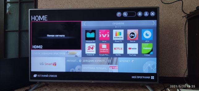 Продам Телевізор LED LG Smart TV 47 дюймів 47LB57