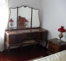Mobília de Quarto Queen Anne Rico - Completa