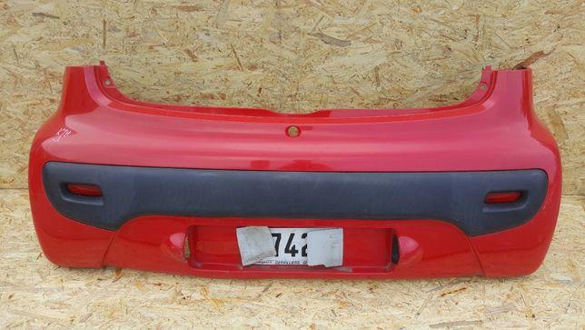 Zderzak Tył Citroen C1 Peugeot 107 KJH 3D
