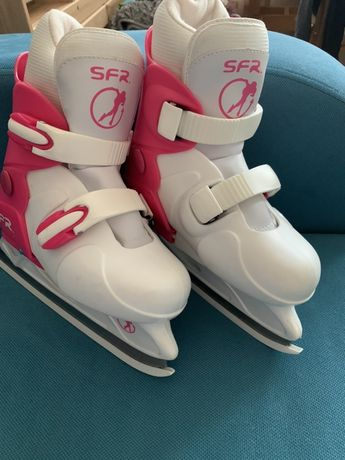 Раздвижные коньки SFR Hardboot Ice Skate Pink S (SFR074) 30,5-34