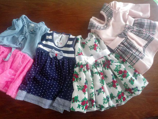 Zestaw sukienek dla dziewczynki