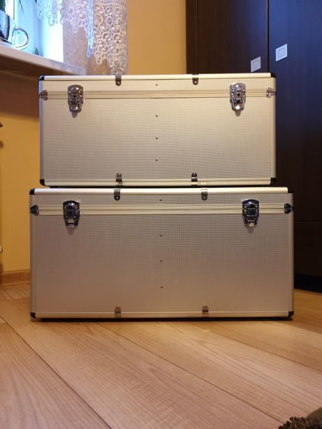 Kufer, walizka, pojemnik, case aluminiowe. NOWE!!!
