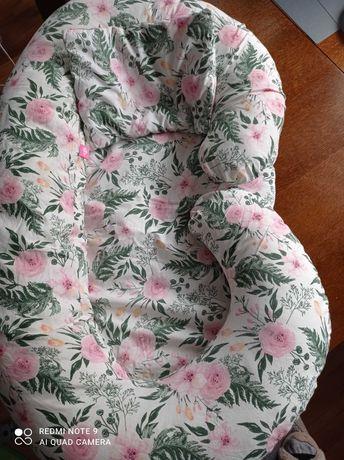 Poduszka ciążowa,komplet poduszka i kołdra do wózka, rożek
