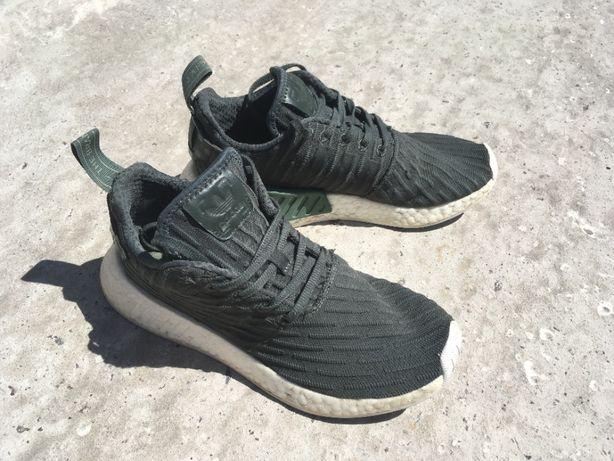 Кроссовки женские летние хаки Adidas Boost, 38 размер