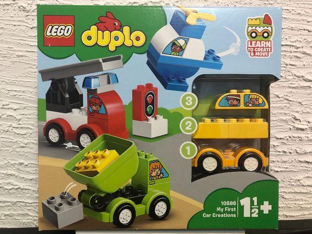 LEGO DUPLO 10886 nowy zestaw kreatywny Moje Pierwsze Samochodziki