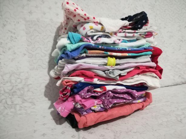 Ubranka dziewczynka 2-3 latka 24 sztuki Mega paka