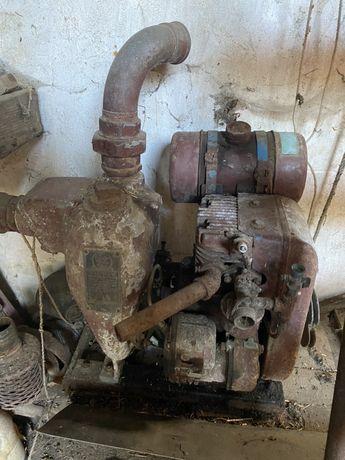 Motor de rega com bomba que ferra automática