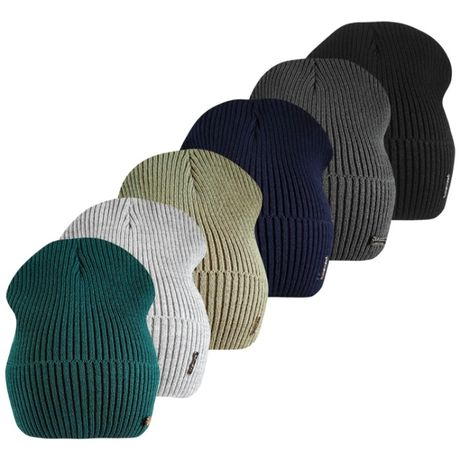 Вязаная весенняя шапка Классик ог.52-58см