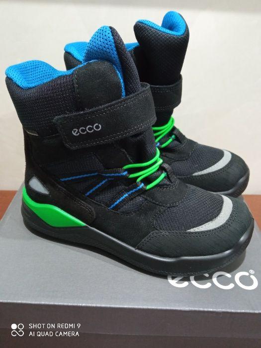 Сапоги-ботинки ECCO 29(19 см),30 р (20 см) Киев - изображение 1