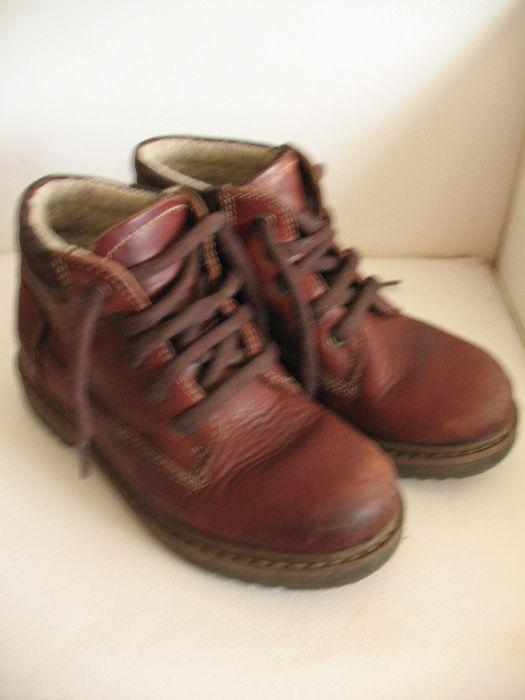 Ботинки теплые кожаные, р. 31 Донецк - изображение 1