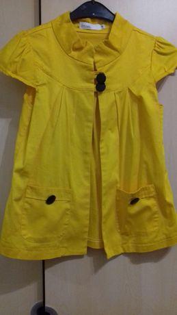 Casaco amarelo Elles Collection M