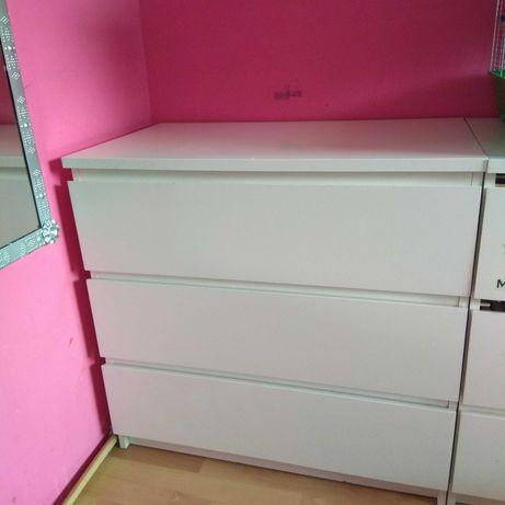 Biała Komoda Malm Ikea 80cm