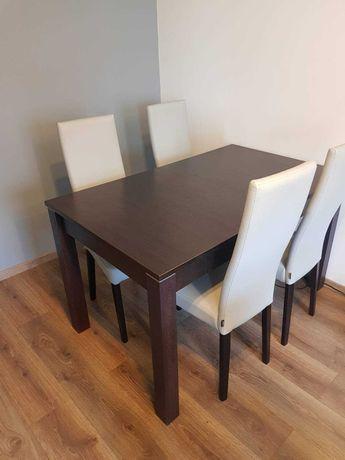 Stół rozkładany - Agata Meble - kolor Wenge - 130cm(180) x 80cm x 76cm