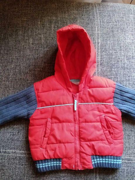 Куртка демисезонная на 9 мес-1,5 лет