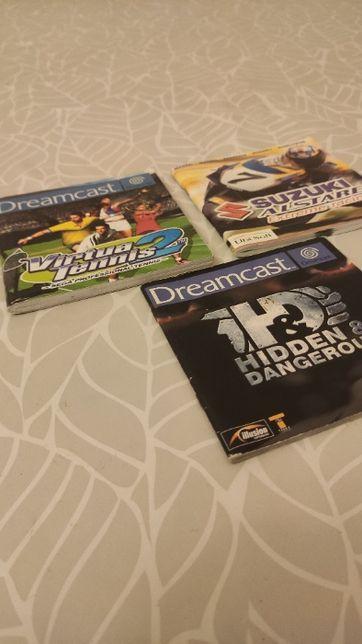 Manuais Jogos Dreamcast - Pack de 3