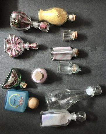 Frascos de vidro com Cheirinho