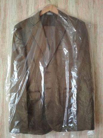 Костюм випускний Італія, выпускной костюм коричневый, пиджак брюки