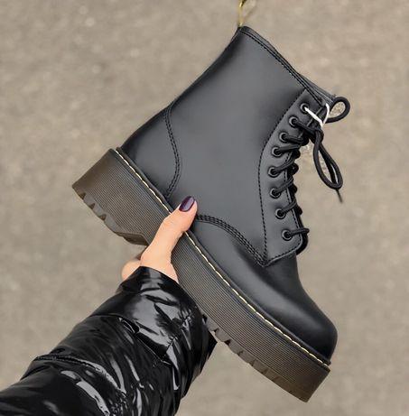 Зимние ботинки Dr.Martens Jadon на меху и без меха! 1в1 ОРИГИНАЛ ААА+